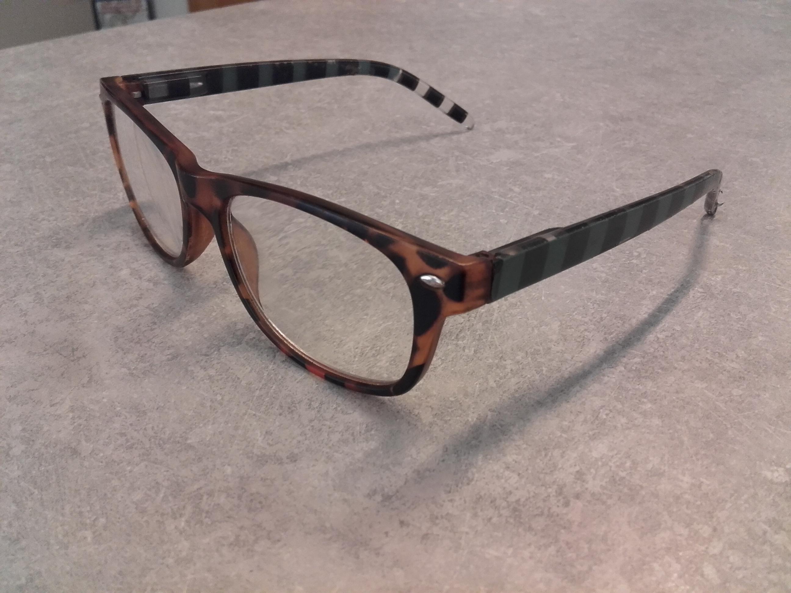 optische Brille
