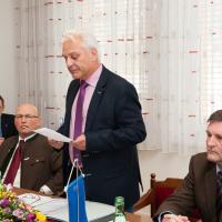 Angelobung des neugewählten Gemeinderates 2015