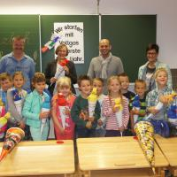 Schulbeginn in der VS Kolbnitz