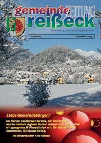 Gemeindezeitung Reißeck Nr. 2/2015